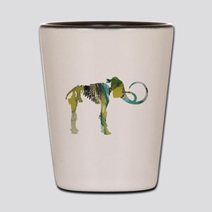 Woolly mammoth Shot Glass